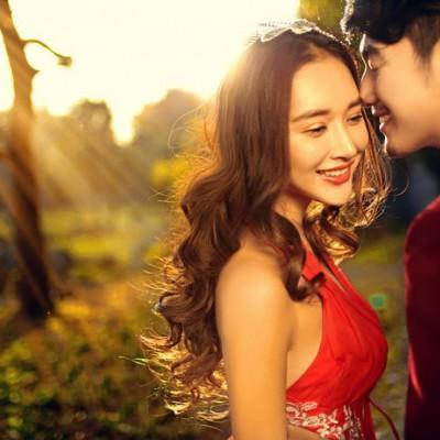 3创意婚礼:穿着汉服去结婚