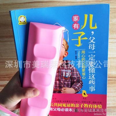 学习文具学生笔袋 硅胶巧克力方形拉链袋订做学生铅笔袋直销
