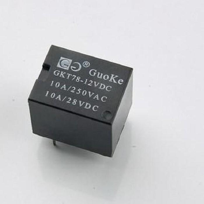 继电器 电磁继电器 功率继电器 GUOKE 国科GKT78-12VDC 直流电磁继电器 交流电磁继电器 240