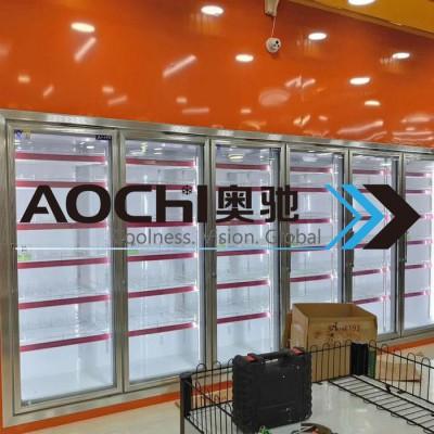 奥驰冷链饮料柜厂家定制超市饮料柜便利店饮料展示冷柜