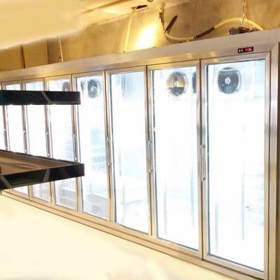 奥驰后补式饮料柜 超市饮料柜 便利店饮料柜